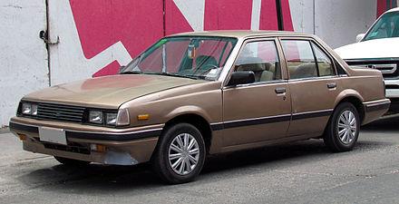 Isuzu Aska I 1983 - 1989 Sedan #7