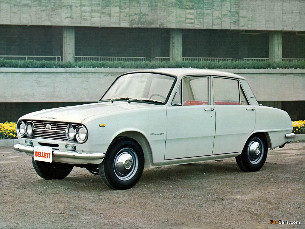Isuzu Bellett 1963 - 1973 Coupe #6