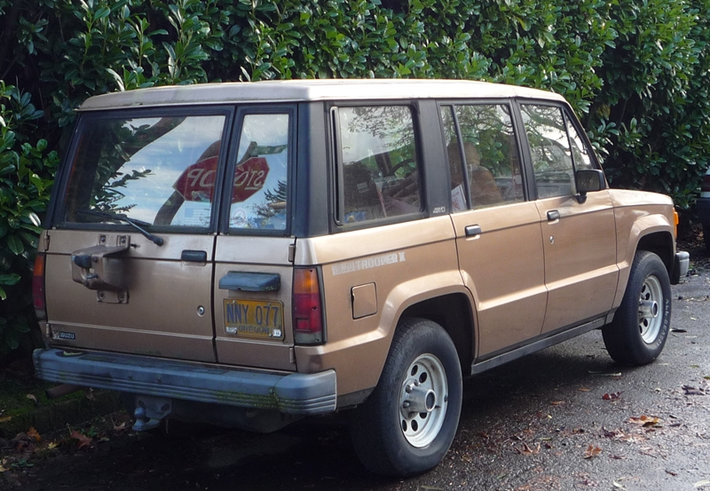 Isuzu Trooper I 1981 - 1991 SUV #3