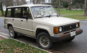 Isuzu Trooper I 1981 - 1991 SUV #8
