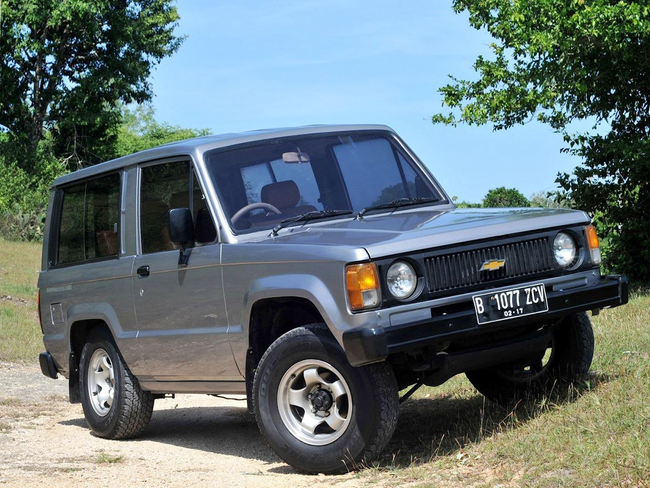 Isuzu Trooper I 1981 - 1991 SUV #2
