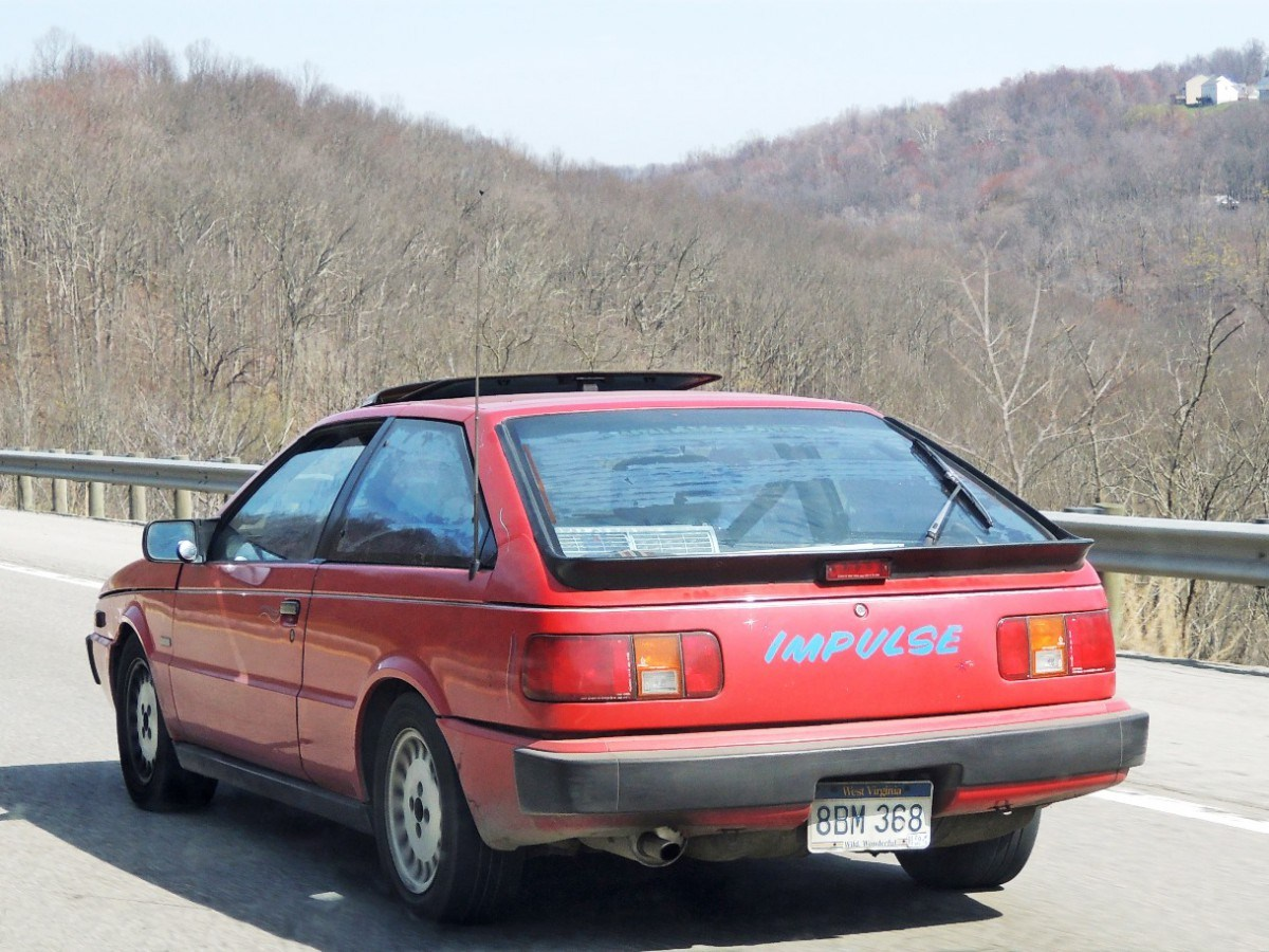 Isuzu Piazza II 1990 - 1993 Hatchback 3 door #3