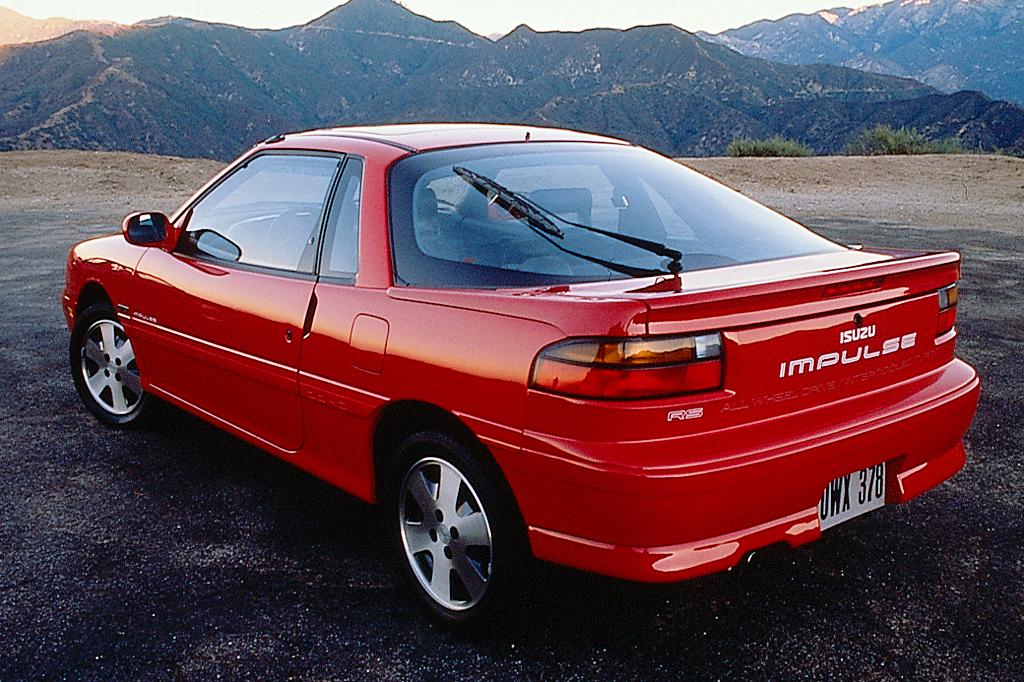 Isuzu Piazza II 1990 - 1993 Hatchback 3 door #2