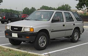 Isuzu MU I 1989 - 1998 SUV #7