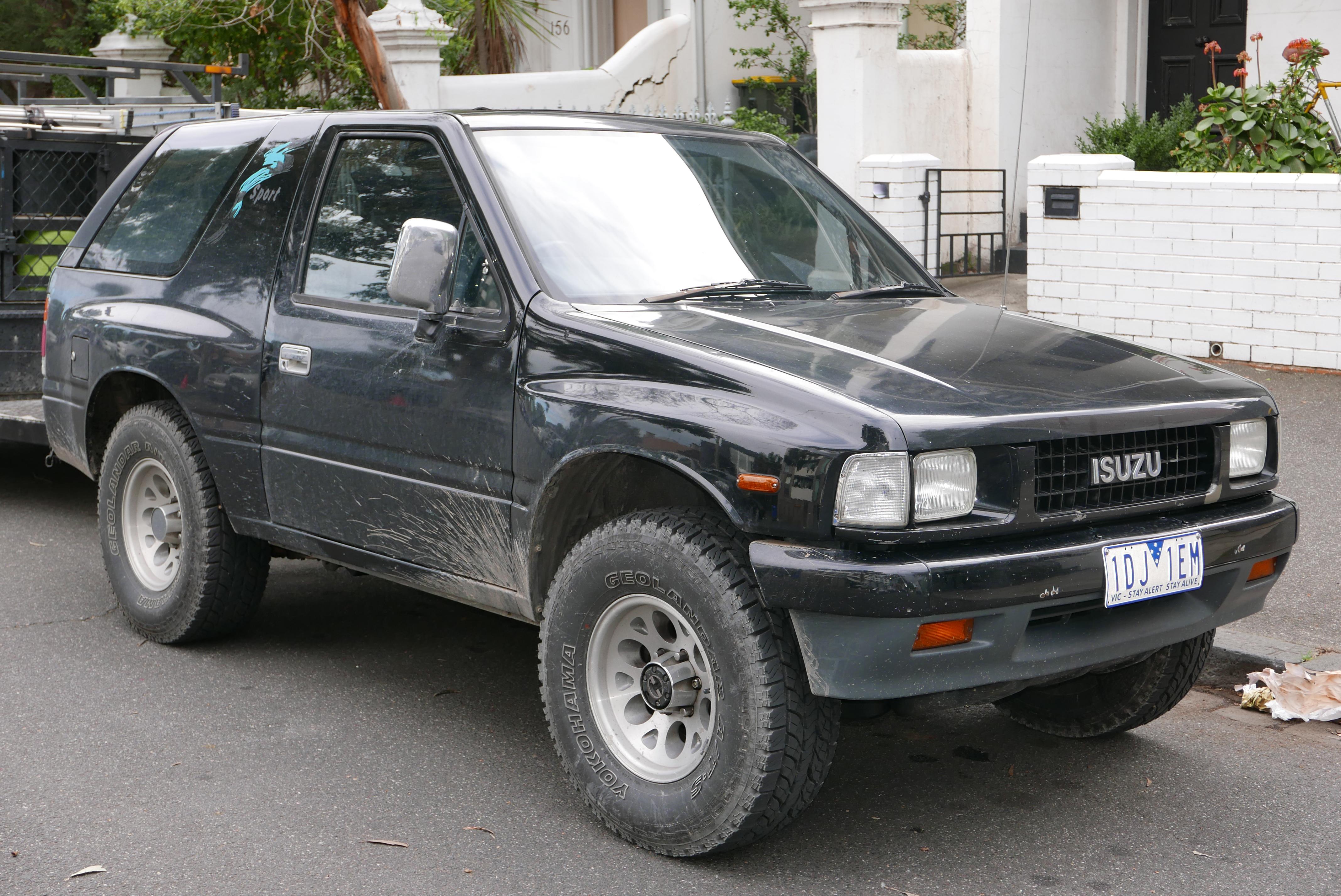 Isuzu MU II 1998 - 2004 SUV #4