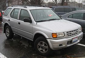Isuzu MU II 1998 - 2004 SUV #7