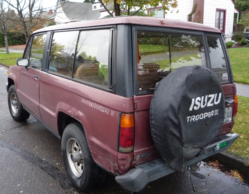 Isuzu Trooper I 1981 - 1991 SUV #1