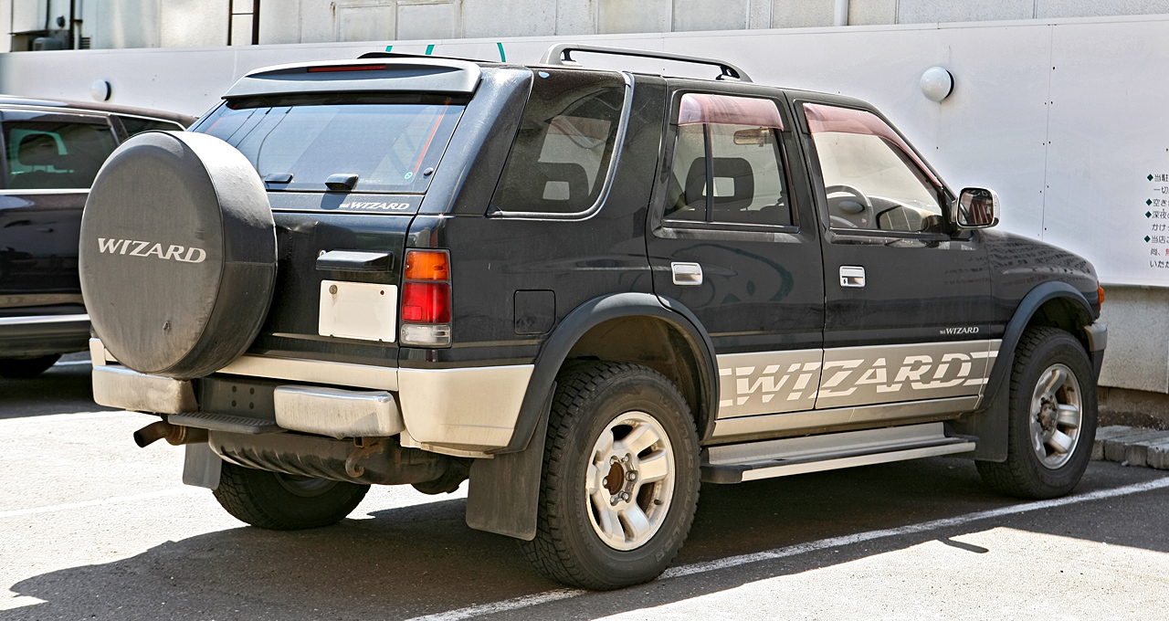 Isuzu Wizard I 1990 - 1998 SUV 5 door #4
