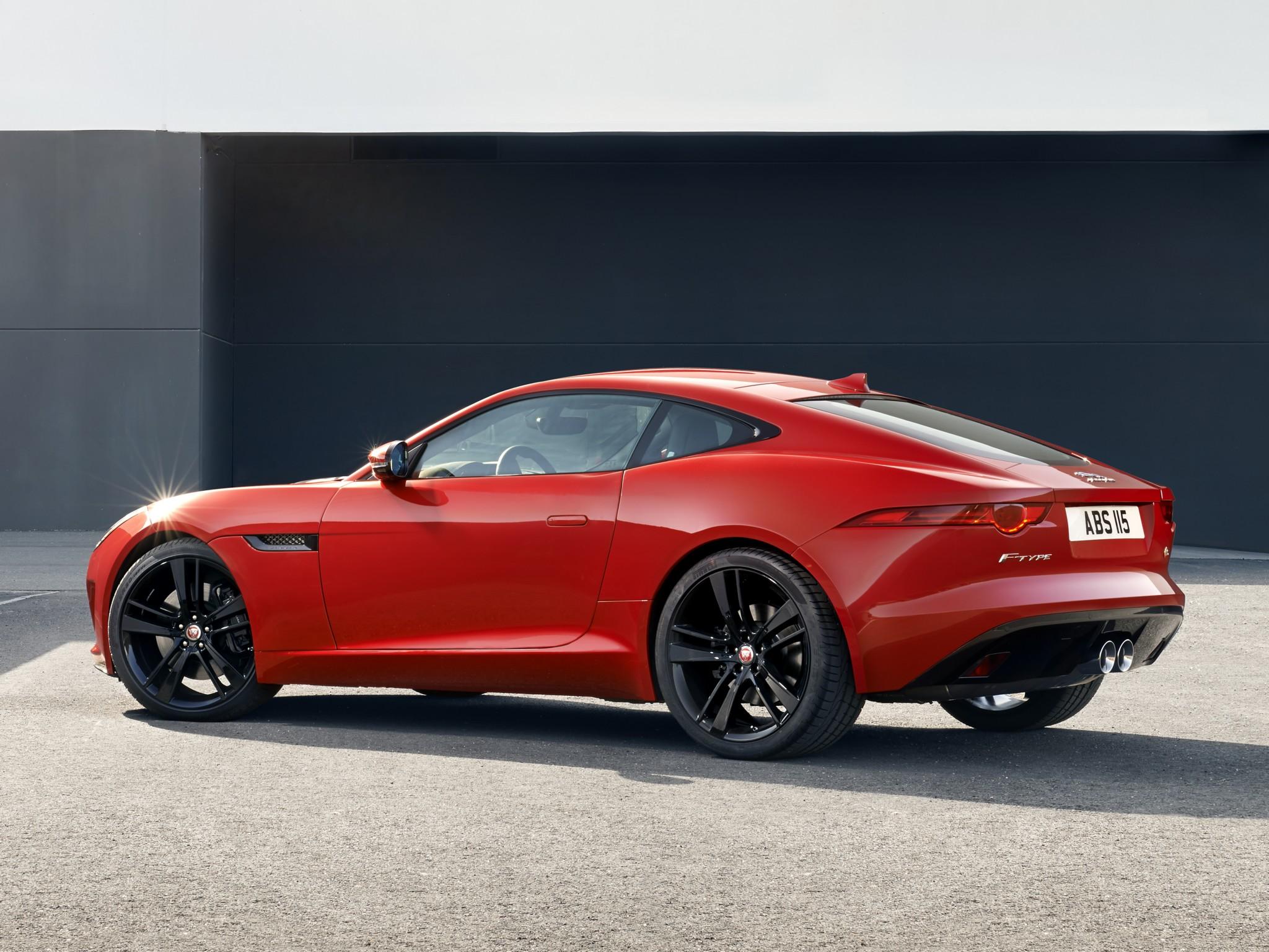 Jaguar F-Type 2013 - now Coupe #1