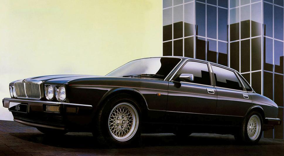 Jaguar XJ II (XJ40) 1986 - 1994 Sedan #6