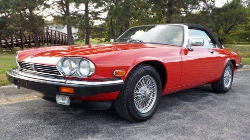 Jaguar XJS Series 3 1990 - 1996 Cabriolet #5