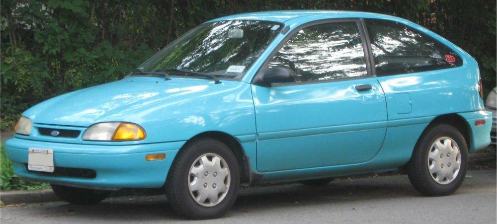 Kia Avella 1994 - 2000 Hatchback 3 door #6