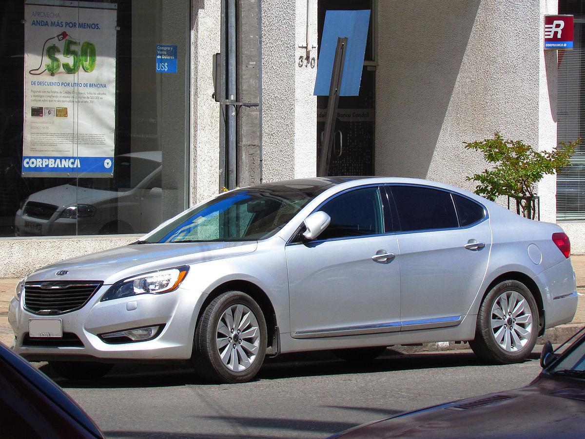 Kia Cadenza I 2009 - 2013 Sedan #7