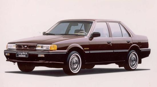 Kia Capital 1989 - 1996 Sedan #2