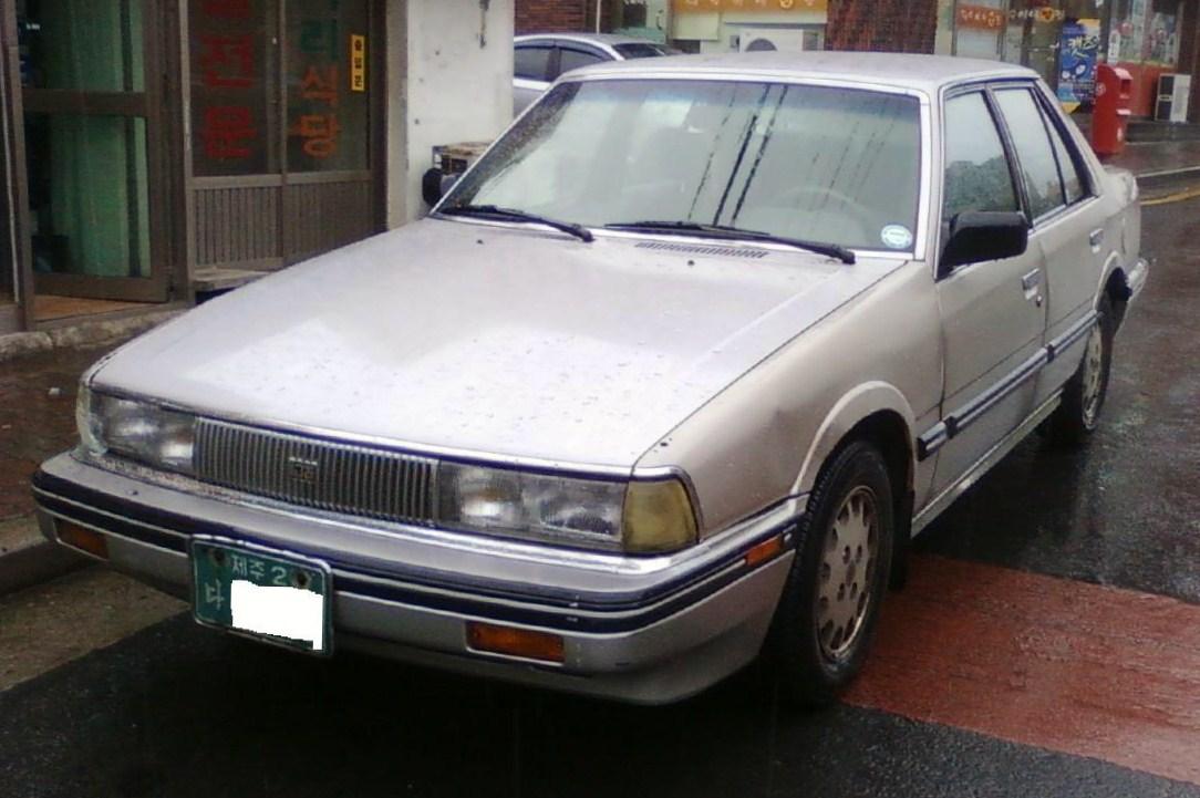 Kia Concord 1987 - 1995 Sedan #8