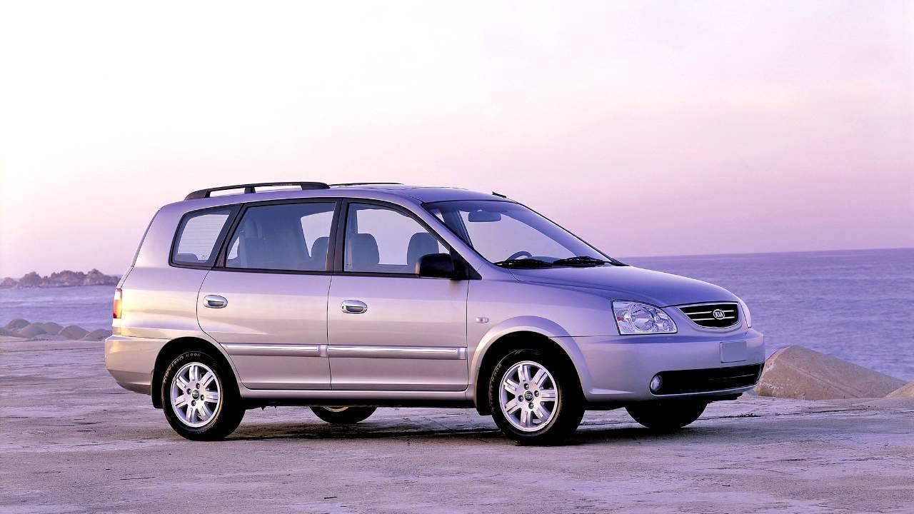 Kia Carens I (RS) Restyling 2002 - 2006 Compact MPV #7