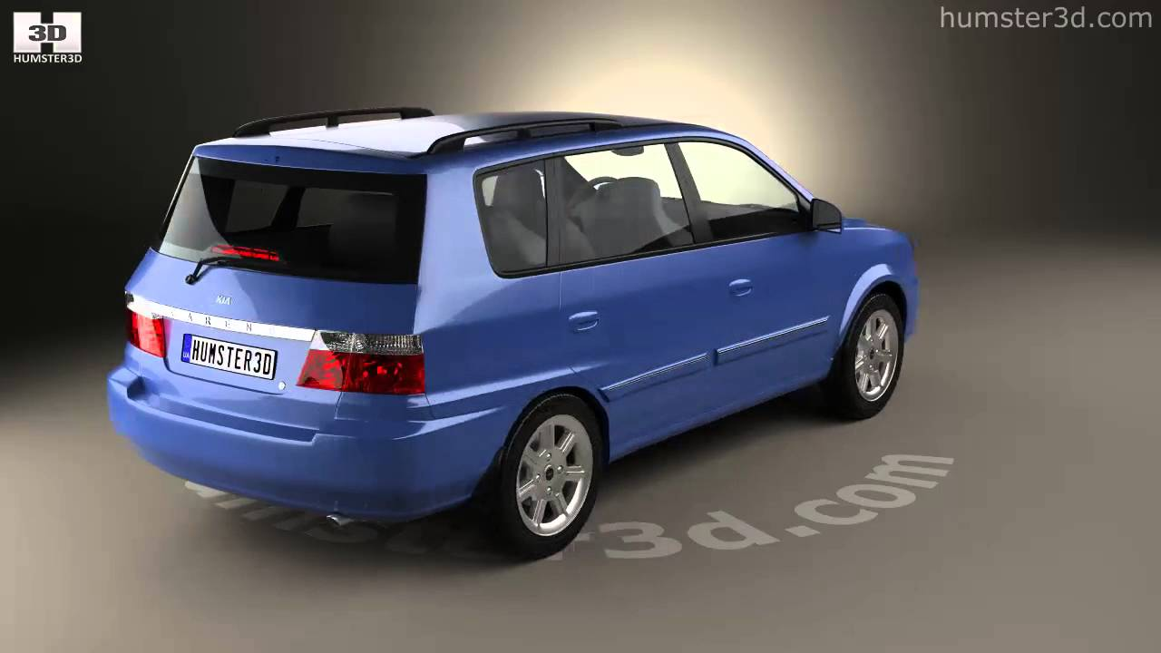 Kia Carens I (RS) Restyling 2002 - 2006 Compact MPV #5