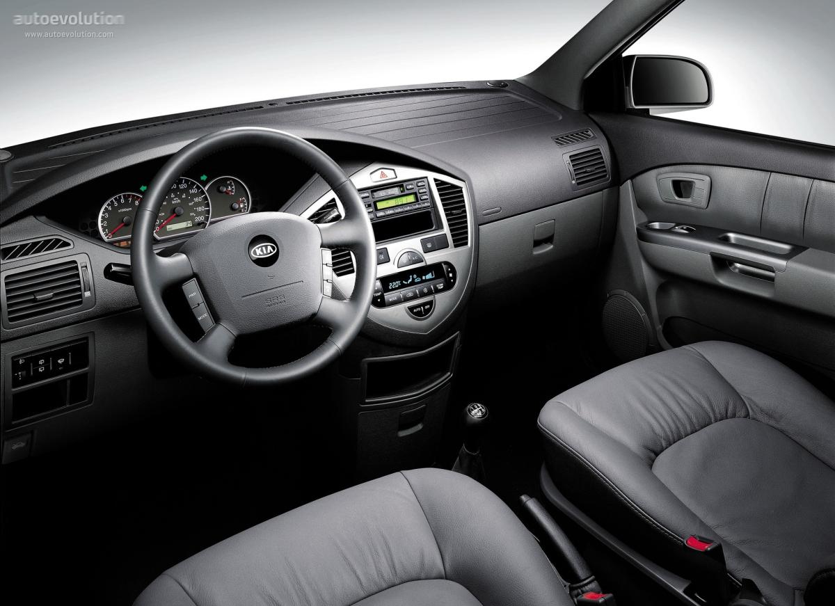 Kia Carens I (RS) Restyling 2002 - 2006 Compact MPV #4