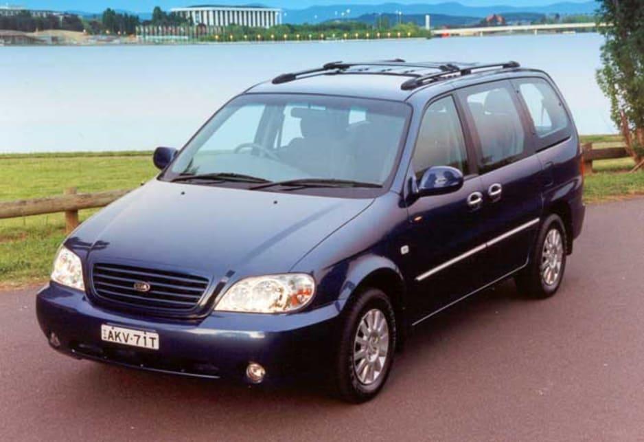 Kia Carnival I 1998 - 2001 Minivan #1