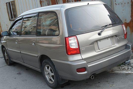 Kia Carstar I 1999 - 2003 Compact MPV #7