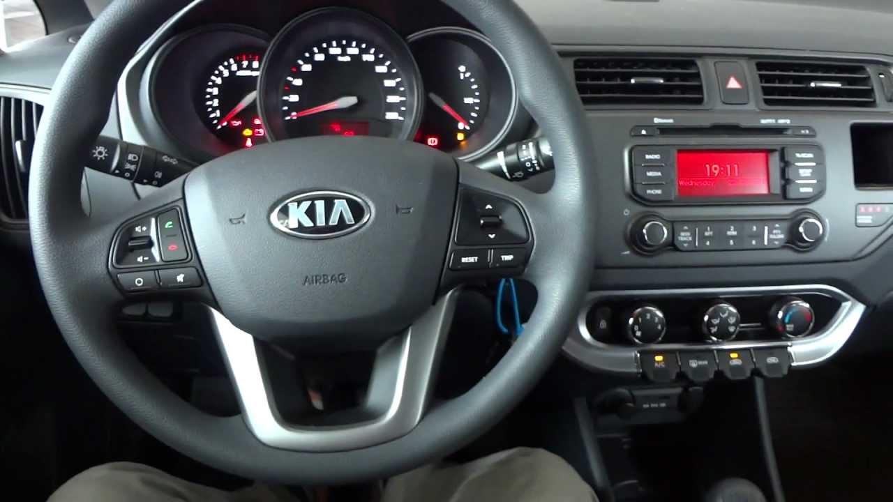 Kia Rio III 2011 - 2015 Sedan #7