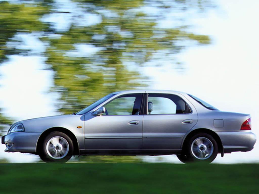 Kia Clarus I 1996 - 1998 Sedan #5