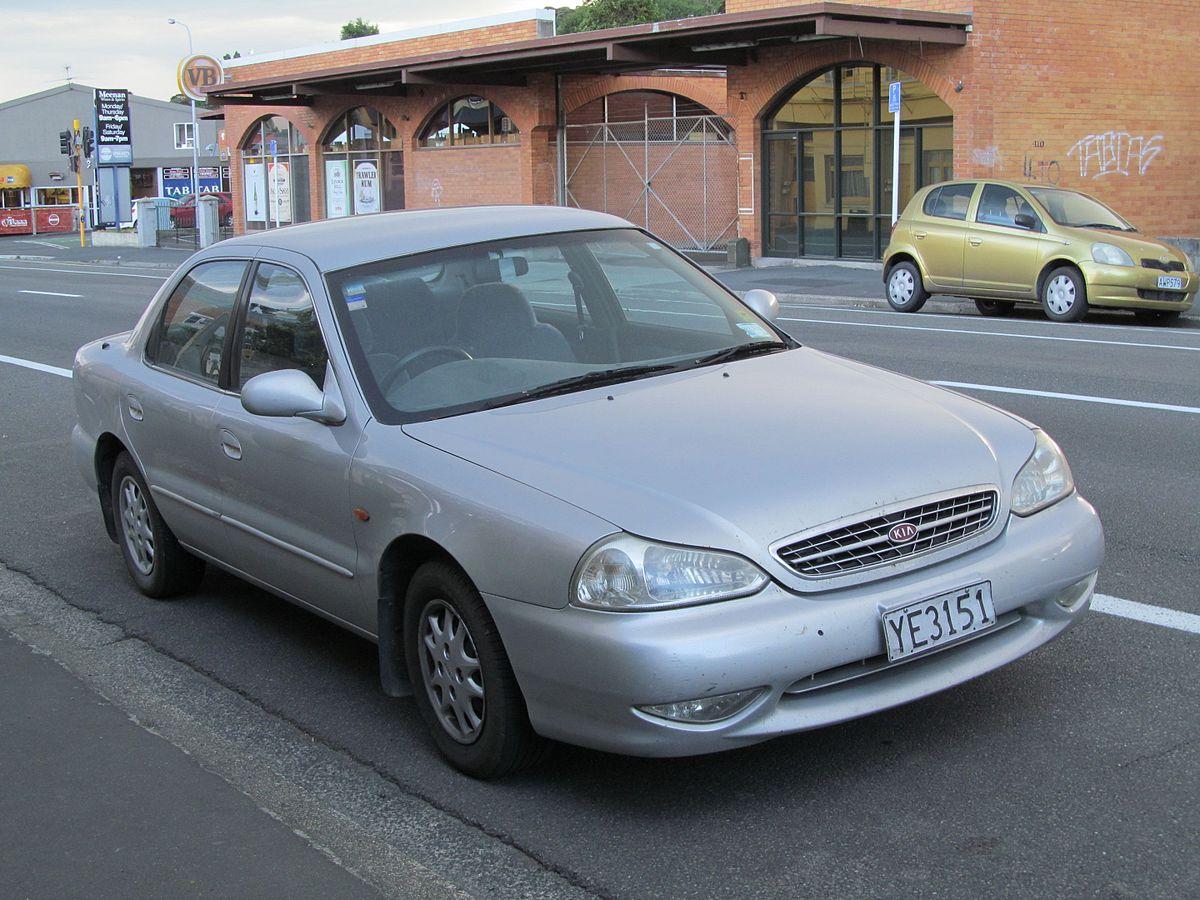 Kia Clarus II 1998 - 2001 Sedan #7