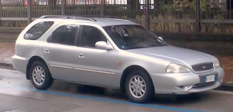 Kia Clarus II 1998 - 2001 Station wagon 5 door #1