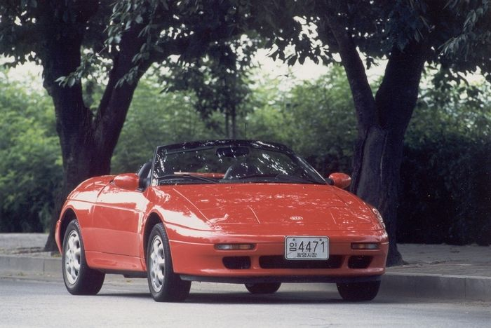 Kia Elan 1995 - 1999 Cabriolet #6