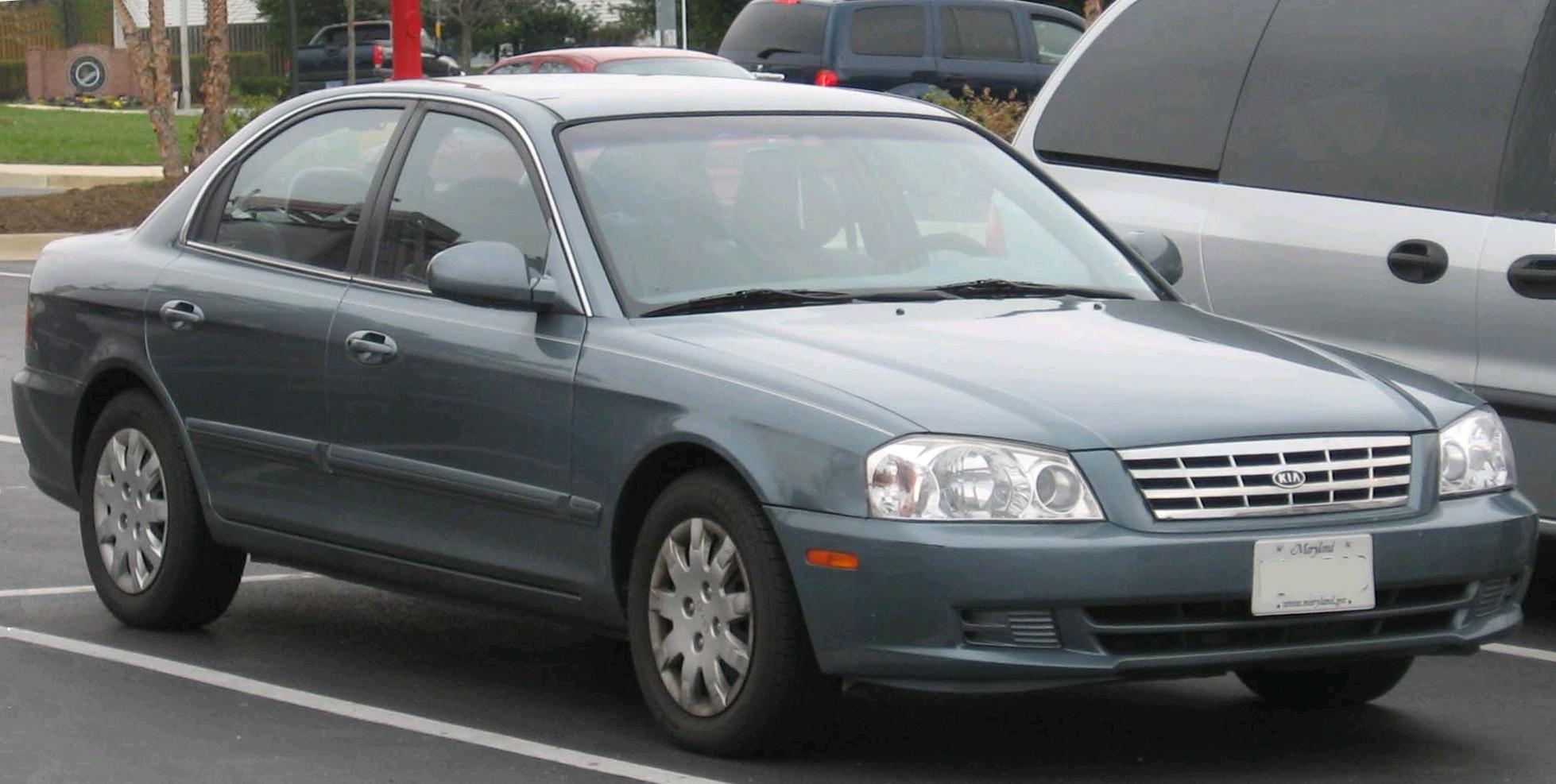 Kia Optima I 2000 - 2002 Sedan #7