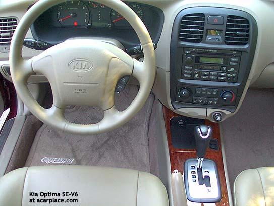 Kia Optima I 2000 - 2002 Sedan #8
