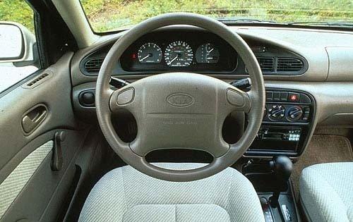 Kia Sephia I 1992 - 1994 Sedan #8