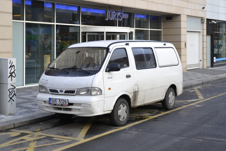 Kia Pregio I 1995 - 2003 Minivan #2