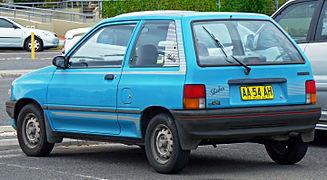 Mazda 121 I 1987 - 1991 Hatchback 3 door #8