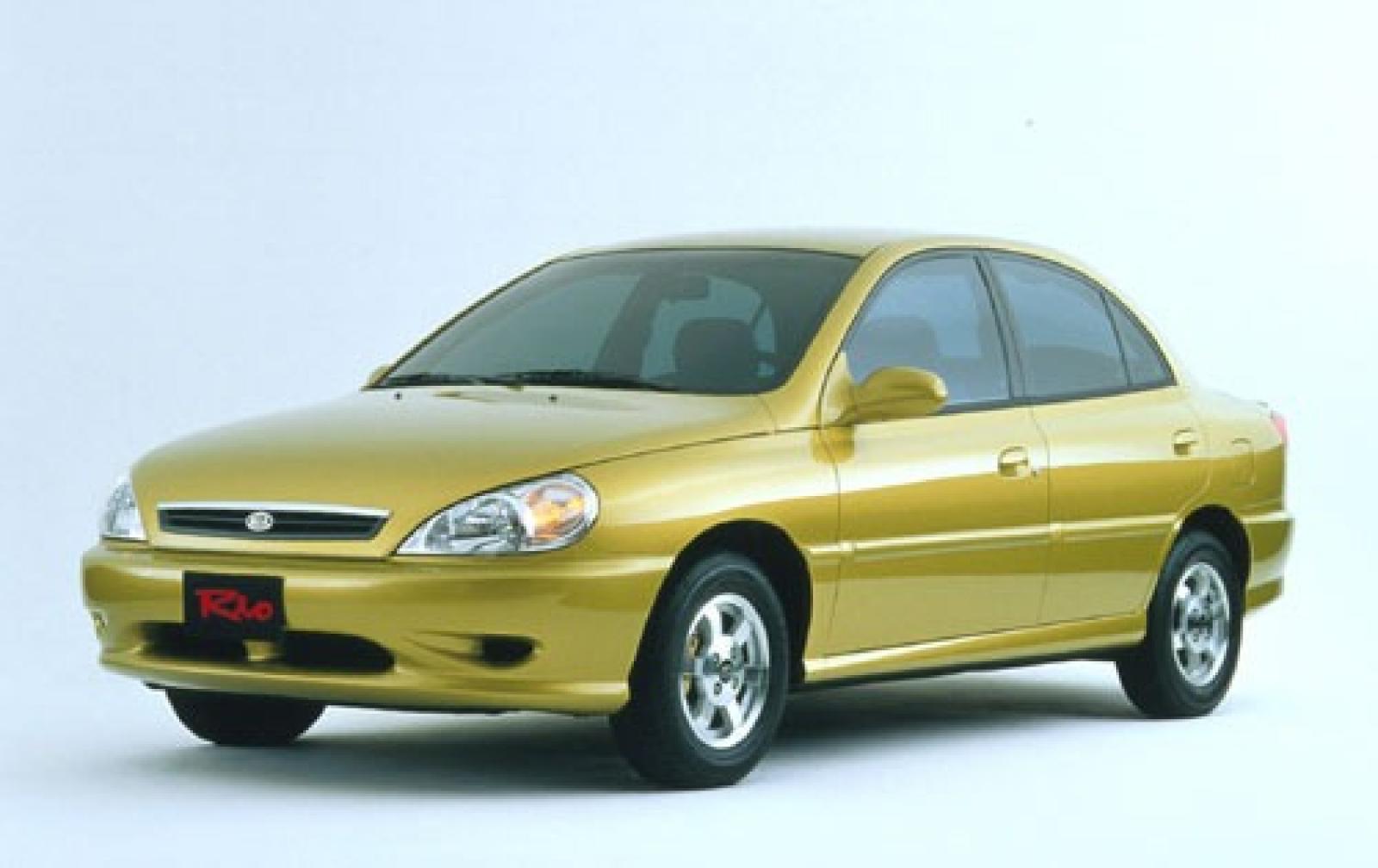 Kia Rio I 1999 - 2002 Sedan #2