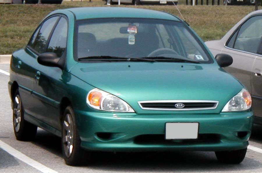Kia Rio I 1999 - 2002 Sedan #5