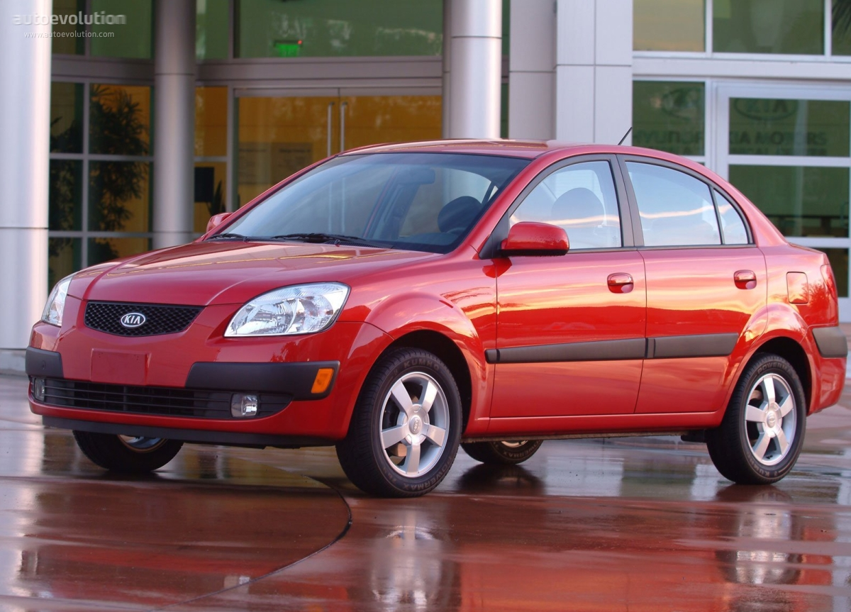 Kia Rio II 2005 - 2009 Sedan #5