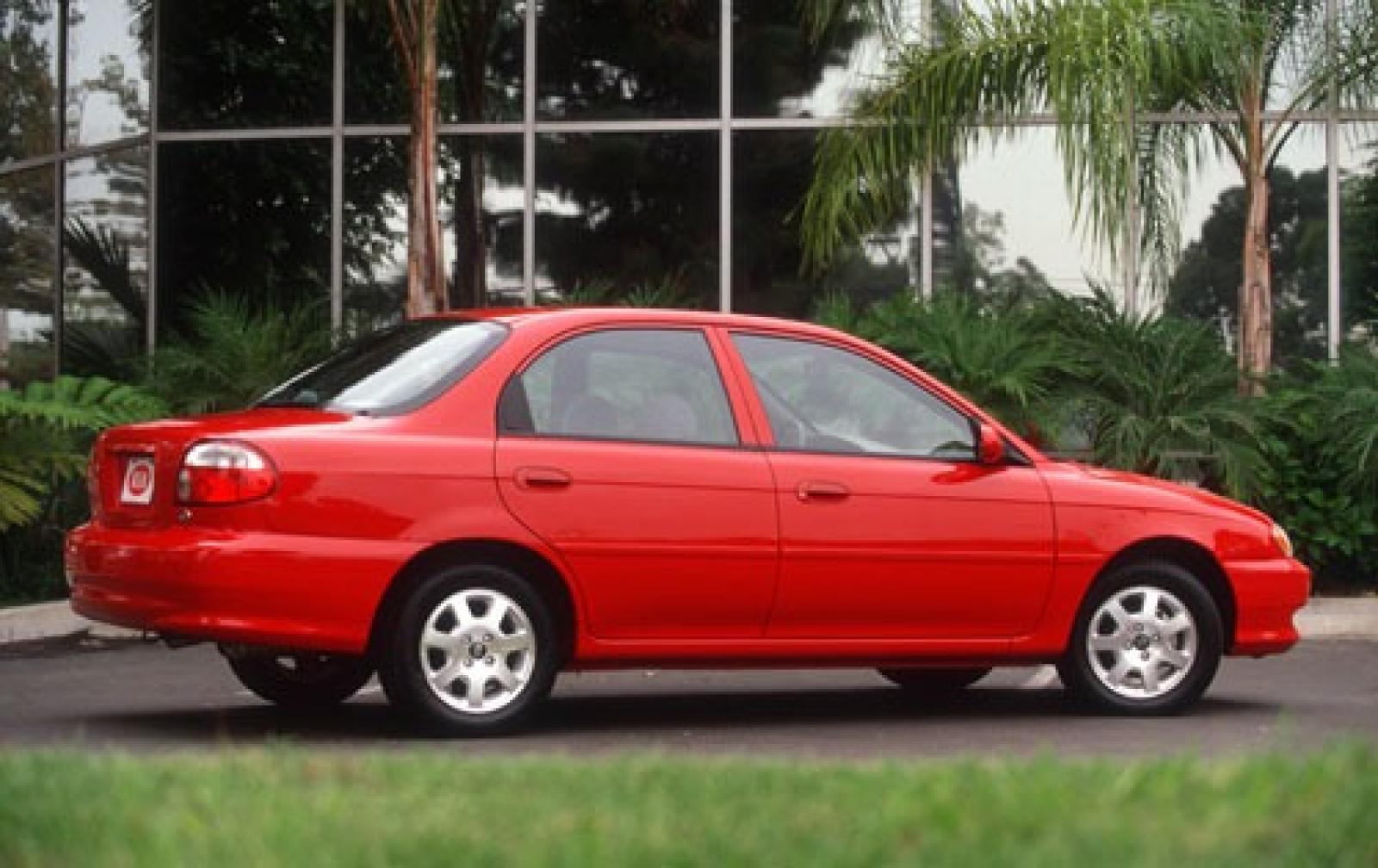 Kia Sephia II 1997 - 2001 Sedan #3