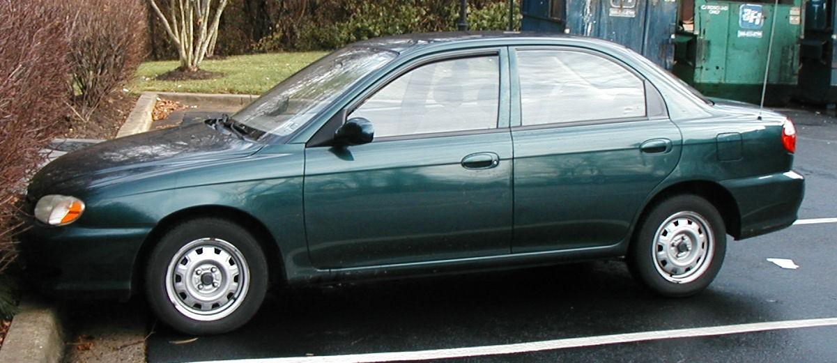 Kia Sephia II 1997 - 2001 Sedan #2