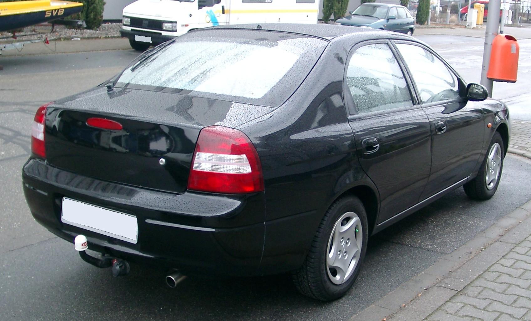 Kia Shuma I 1997 - 2001 Liftback #4