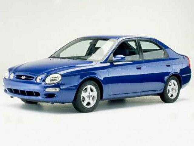 Kia Spectra I 2000 - 2001 Liftback #5