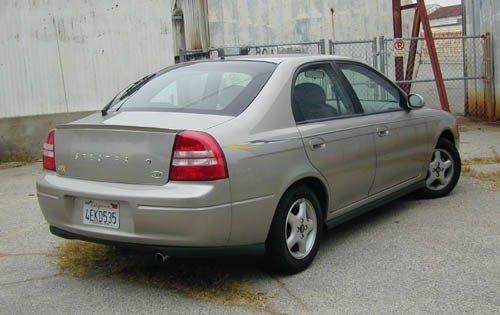 Kia Spectra I 2000 - 2001 Liftback #8