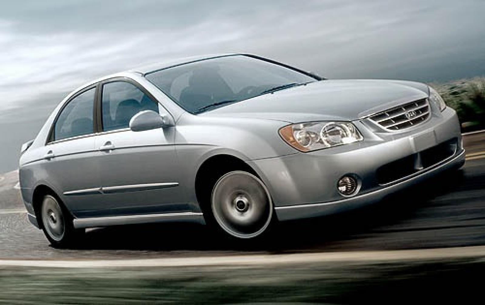 Kia Spectra I Restyling 2 2004 - 2011 Sedan #2