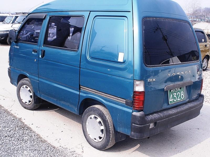 Kia Towner 1999 - 2002 Minivan #1
