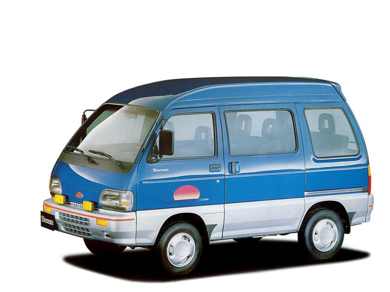 Kia Towner 1999 - 2002 Minivan #2