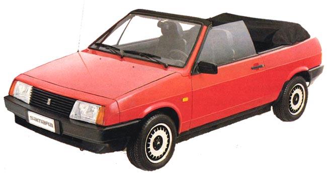 LADA 2108 1984 - 2005 Cabriolet #4
