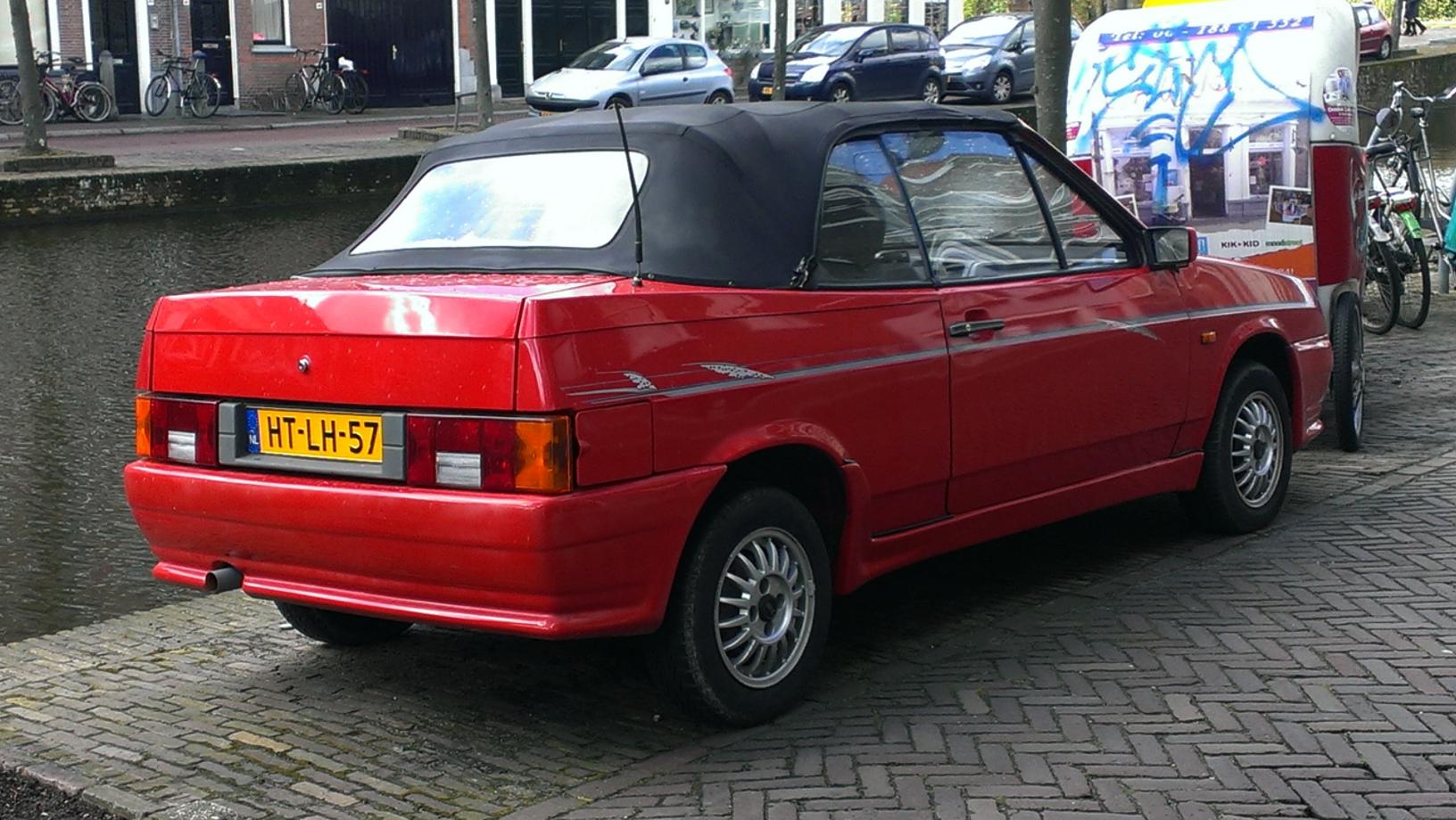 LADA 2108 1984 - 2005 Cabriolet #5