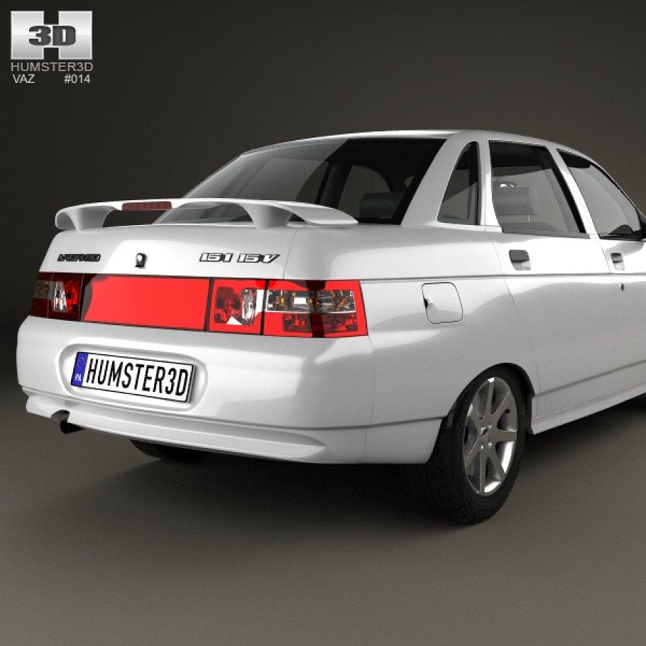 LADA 2110 1995 - 2007 Sedan #2