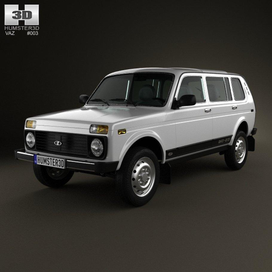 LADA 2131 (4x4) 1993 - now SUV 5 door #2