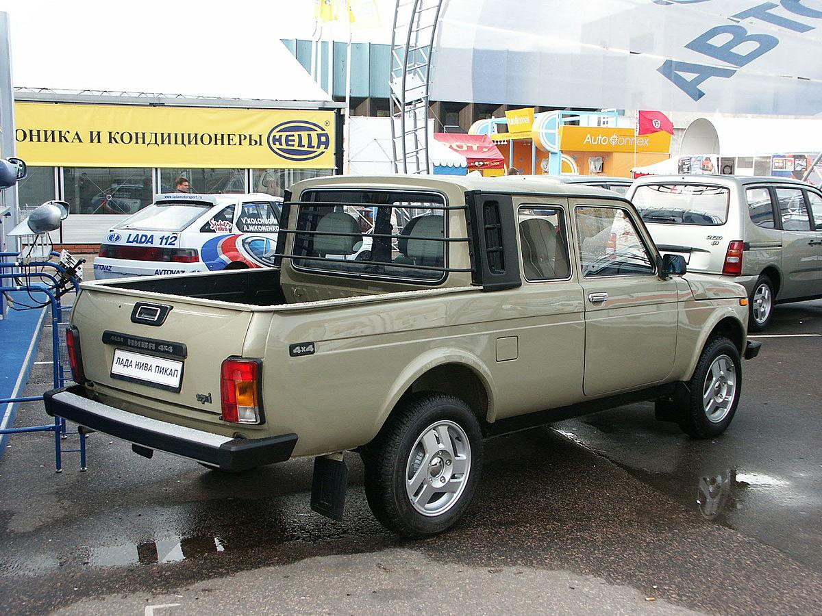 LADA 2329 1995 - now Pickup #8